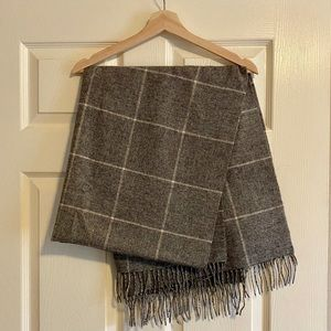 Madewell Wool Scarf Cape